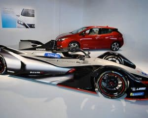 Nissan Formel E Auto