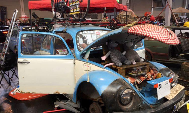 VW Käfer Rattenkarre Rattenauto