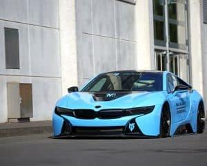 BMW i8 Tuning Folierung