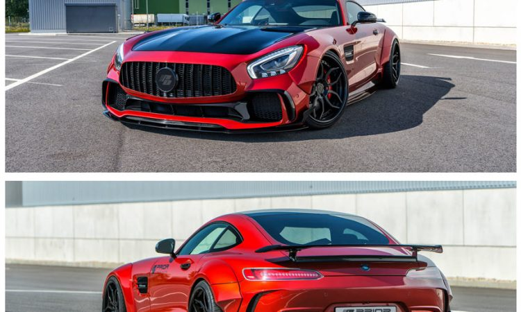Mercedes GTS Widebody Kit