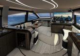 Lexus LY650 Luxus-Yacht Innenraum Deck