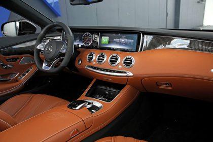 Mercedes-AMG S 63 Cabrio Tuning Innenraum
