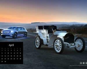 Mercedes-Benz Classic Kalender 2019