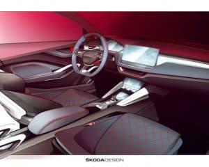 Skoda Vision RS Innenraum