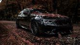 BMW M5 Tuning Folierung Felgen