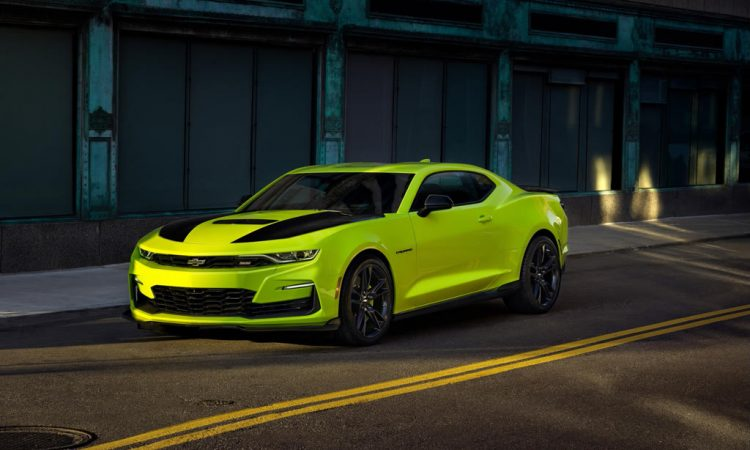 Chevrolet Camaro Änderungen Modelljahr 2019