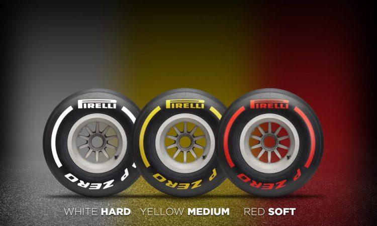 F1 Pirelli Reifen