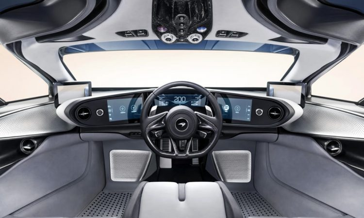 McLaren Speedtail Innenraum