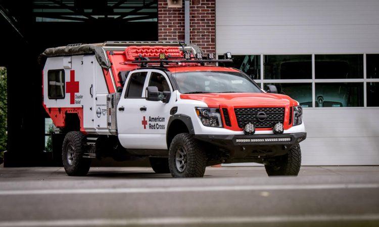 Nissan Titan Rettungswagen