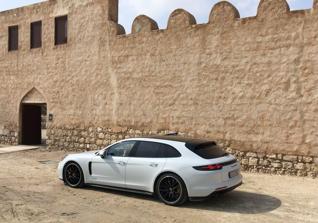 Porsche Panamera GTS Sport Turismo Probefahrt
