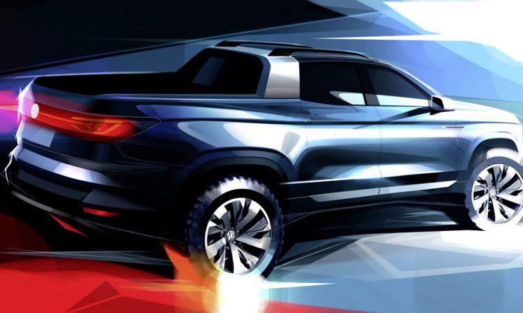VW mit Pickup Konzept