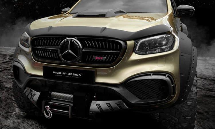 Mercedes-Benz X-Klasse 6x6