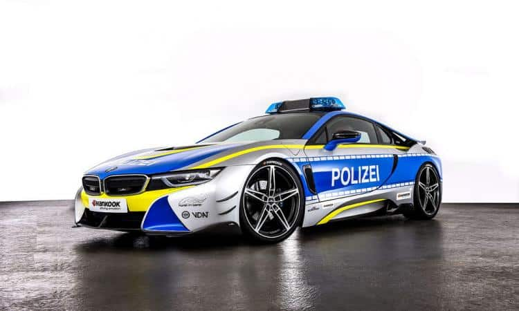 Polizei BMW i8 TUNE IT! SAFE!