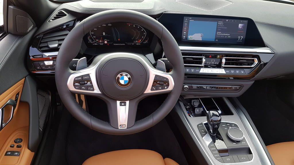 Probefahrt mit dem neuen BMW Z4 Innenraum
