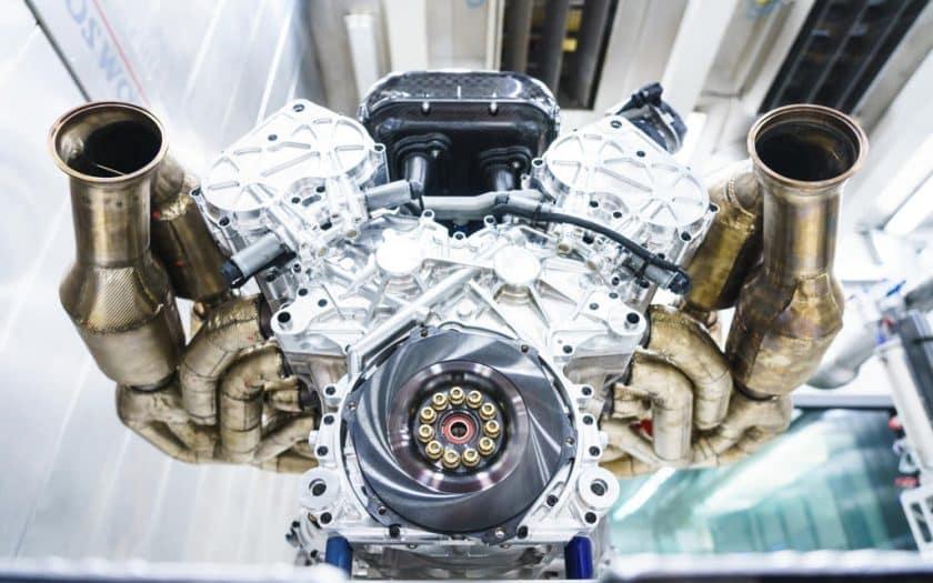 Aston Martin Valkyrie V12 Motor