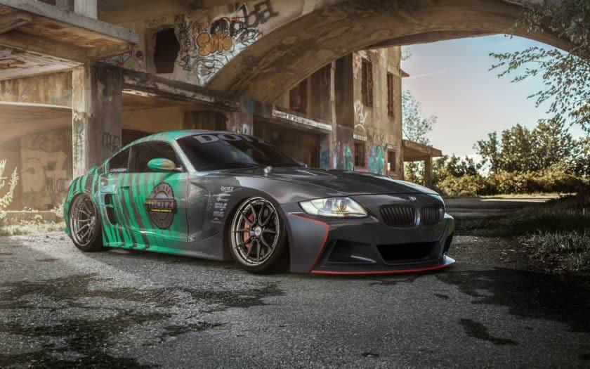 BMW Z4 mit Toyota Supra Motor