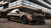 Mercedes-AMG C 63 S Coupé Folierung