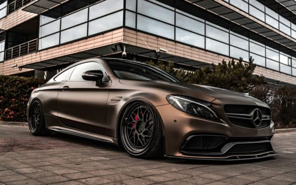 Mercedes-AMG C 63 S Coupé Folierung
