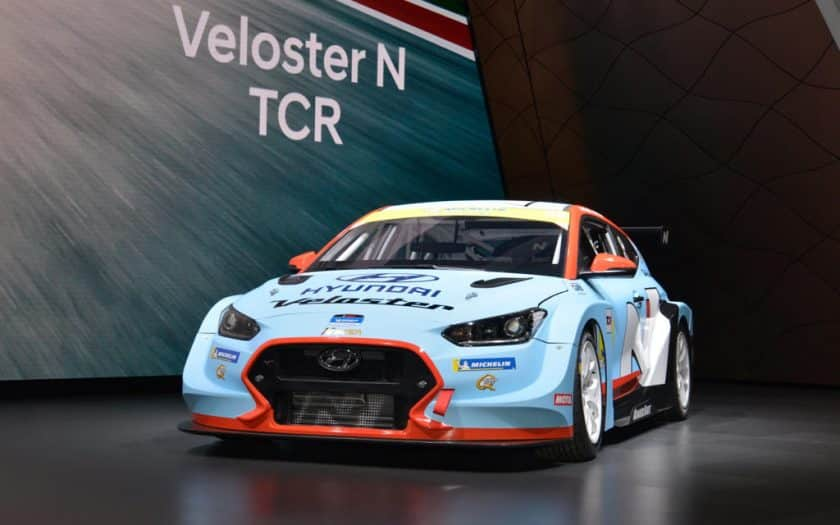 Hyundai Veloster N TCR Race Car
