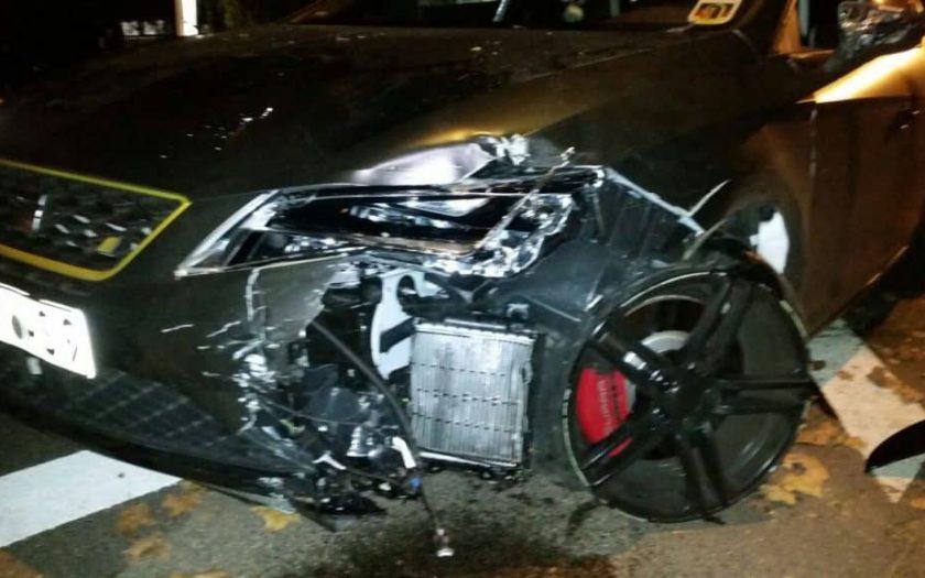 Kaltverformung Seat Leon Cupra 290 Unfall