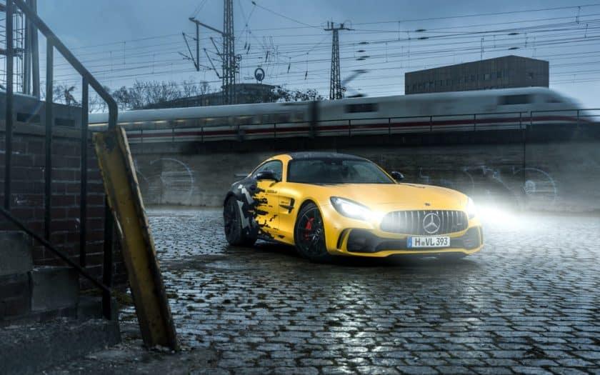 Mercedes AMG GT R Tuning Folierung