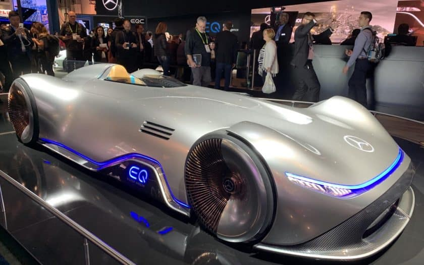 Mercedes-Benz Vision EQ Silberpfeil Silver Arrow