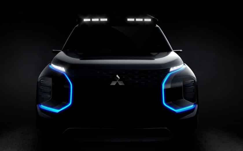 Mitsubishi Engelberg Tourer Concept SUV
