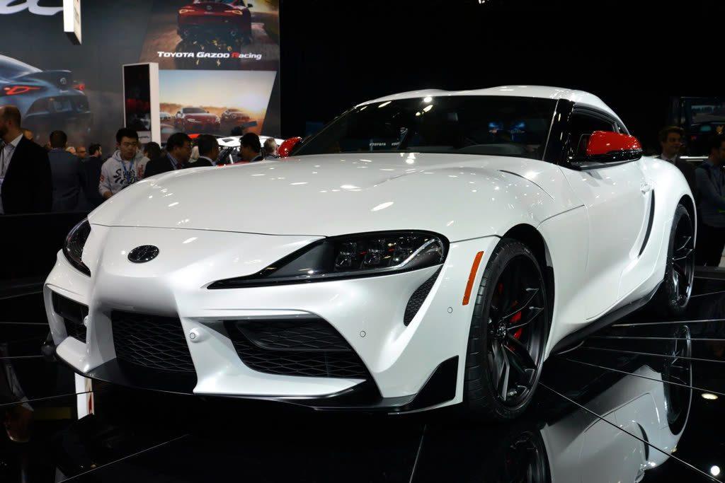 Toyota Supra 2019 weiss