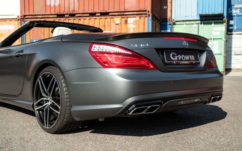 Mercedes-Benz SL 63 AMG Tuning