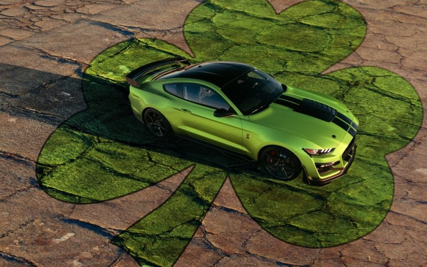 Ford Mustang 2020 in Grabber Lime