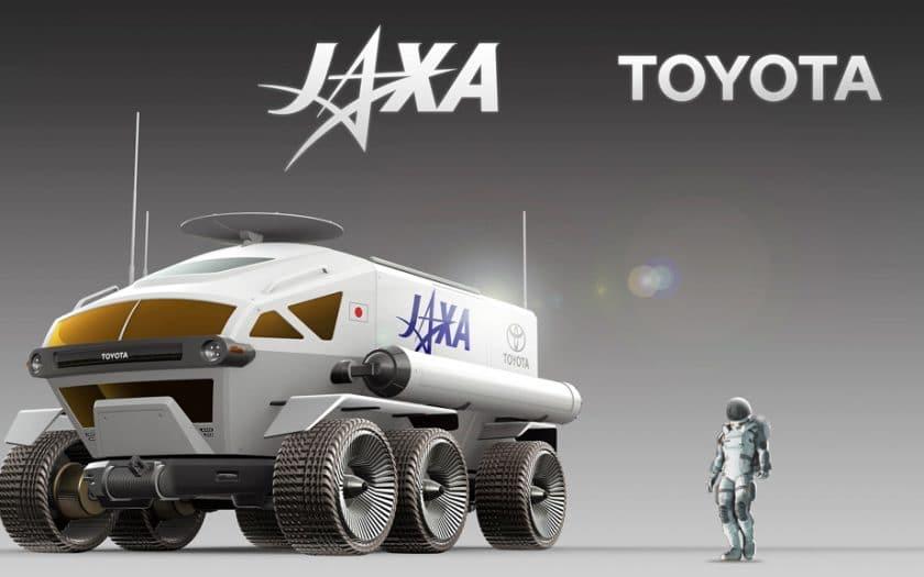 Toyota Mondfahrzeug