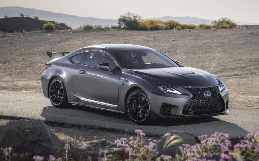2020 Lexus RC F Track