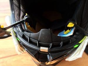 Helmtest HJC RPAH70 Wangenpolster