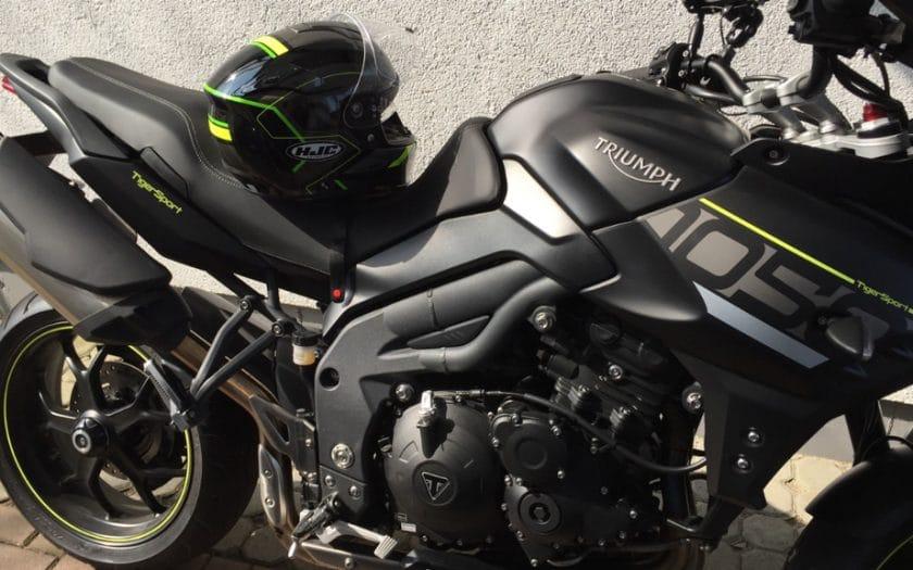Test Motorradhelm HJC RPAH 70