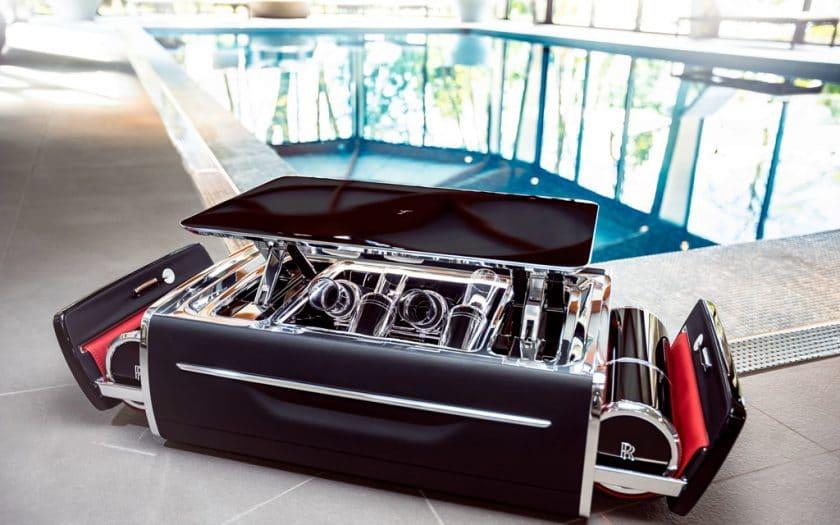 Rolls Royce Champagnertruhe