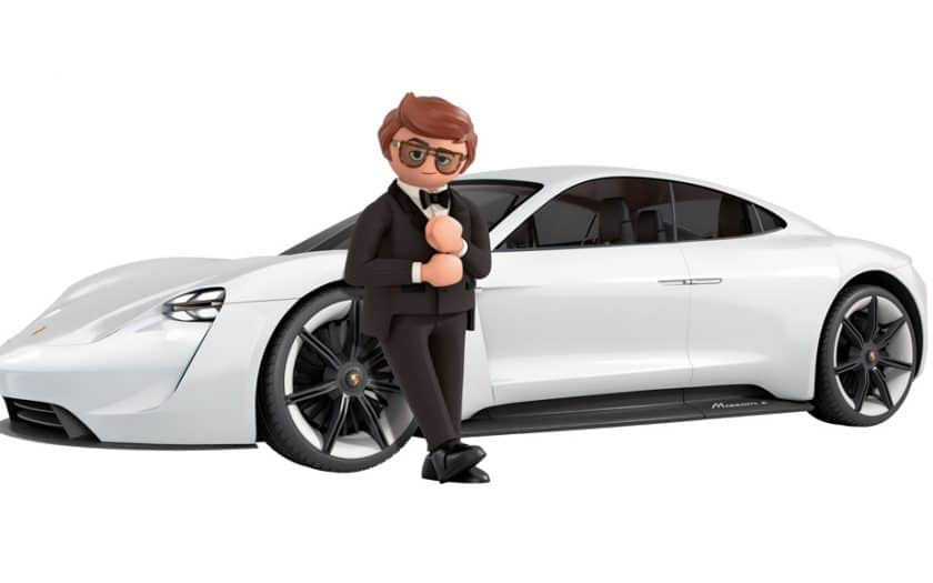Porsche Mission E Rex Dasher