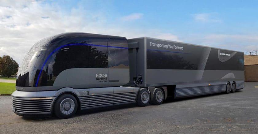 Hyundai Brennstoffzellen Truck