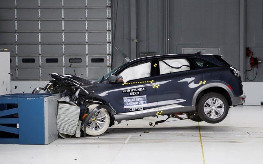 Hyundai NEXO Brennstoffzelle Crash