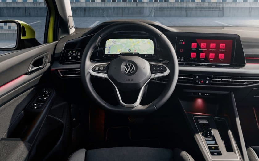 VW Golf Cockpit