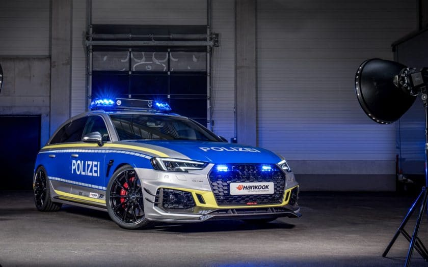 Audi Tuning ABT RS4 R Polizeiauto1