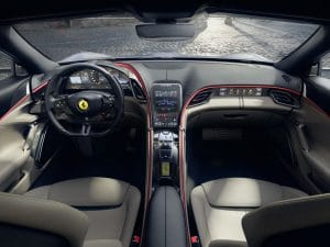 Ferrari Roma Innenraum