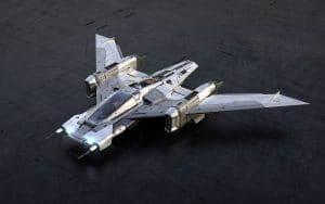 Star Wars Tri Wing S 91x Pegasus Starfighter 001