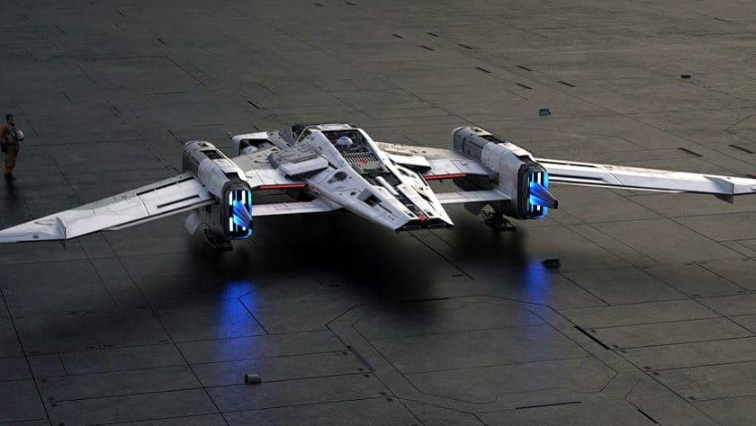 Star Wars Tri Wing S 91x Pegasus Starfighter 002