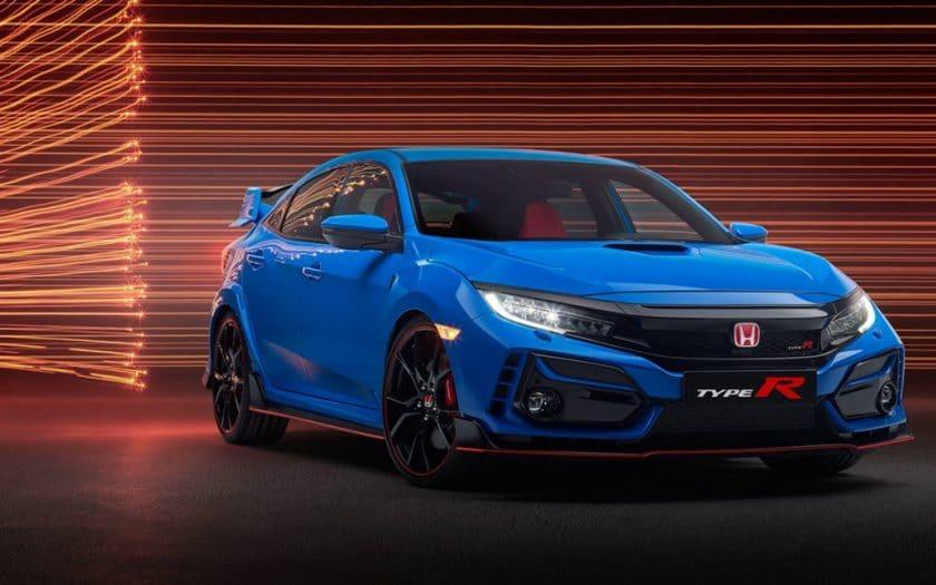 Neuer Honda Civic Type R 2020