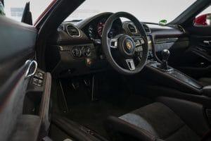Porsche 718 GTS 4.0 Innenraum