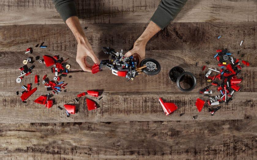 Ducati Panigale Lego