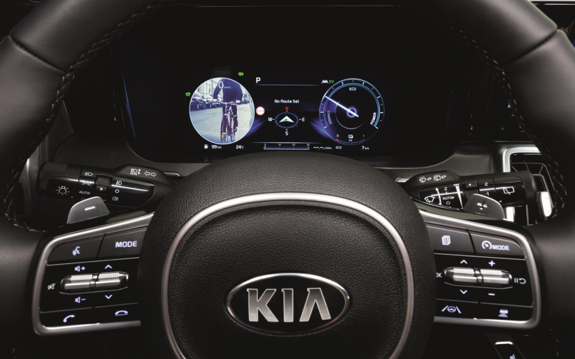 Kia Sorento Blind-Spot View Monitor