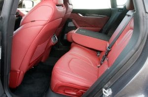 Maserati Levante GTS Probefahrt Innenraum