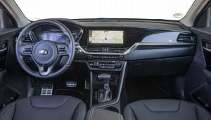 Kia Niro Plug-in Hybrid Innenraum