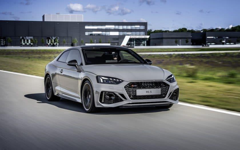 Audi RS 5 Modelländerungen